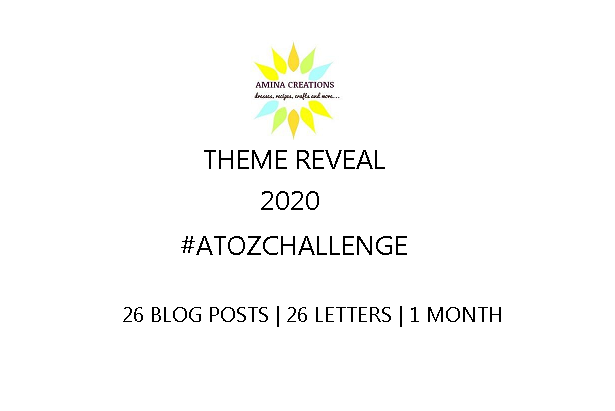 A TO Z CHALLENGE THEME REVEAL