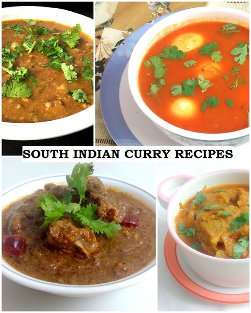 SOUTH INDIAN CURRY RECIPES