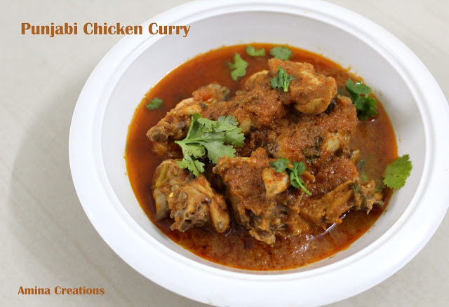 PUNJABI CHICKEN CURRY RECIPE + VIDEO