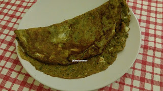 கிரீன் / பிரியாணி ஆம்லெட் / Green / Briyani  omlette