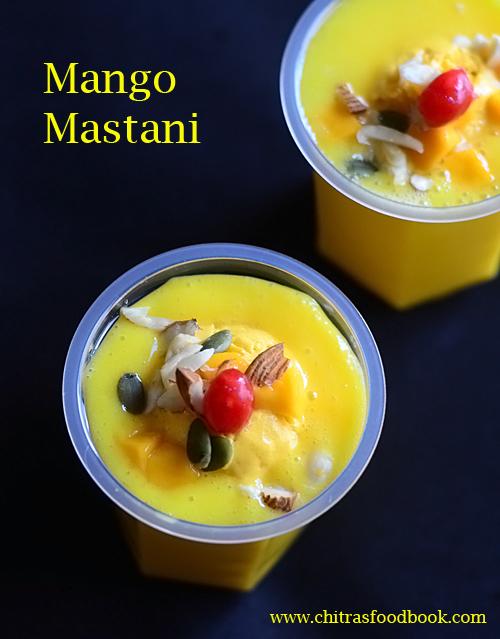 Mango Mastani Recipe Pune Style – Mango Recipes