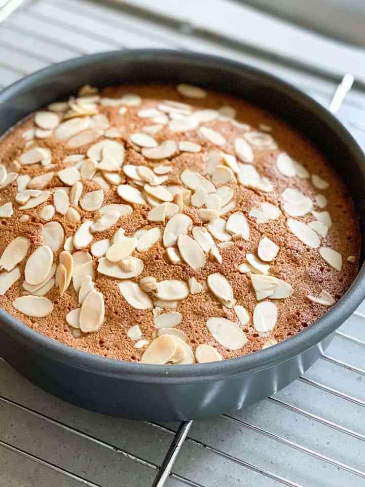 Gluten Free Almond Cake Step by Step Recipe