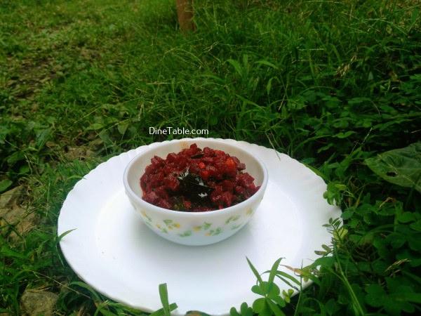Beetroot Achaar Recipe – Easy Beetroot Pickle – ബീറ്റ്റൂട്ട് അച്ചാര്
