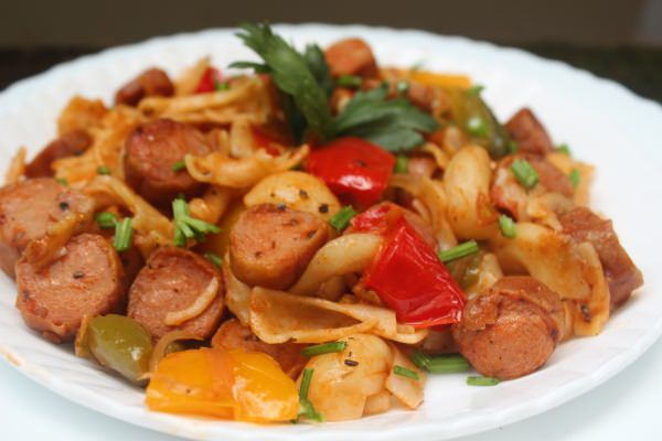 Bell Pepper Sausage Pasta Recipe – Easy & Delicious Pasta Recipe