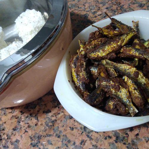 Spicy Mathi Fry / Sardine Fry – Kerala Style Fish Fry