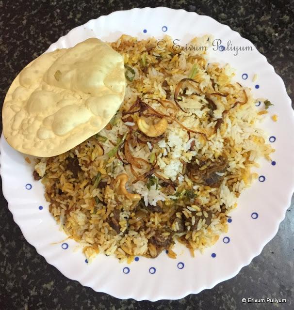Beef Dum Biriyani ~ Step by Step Pics