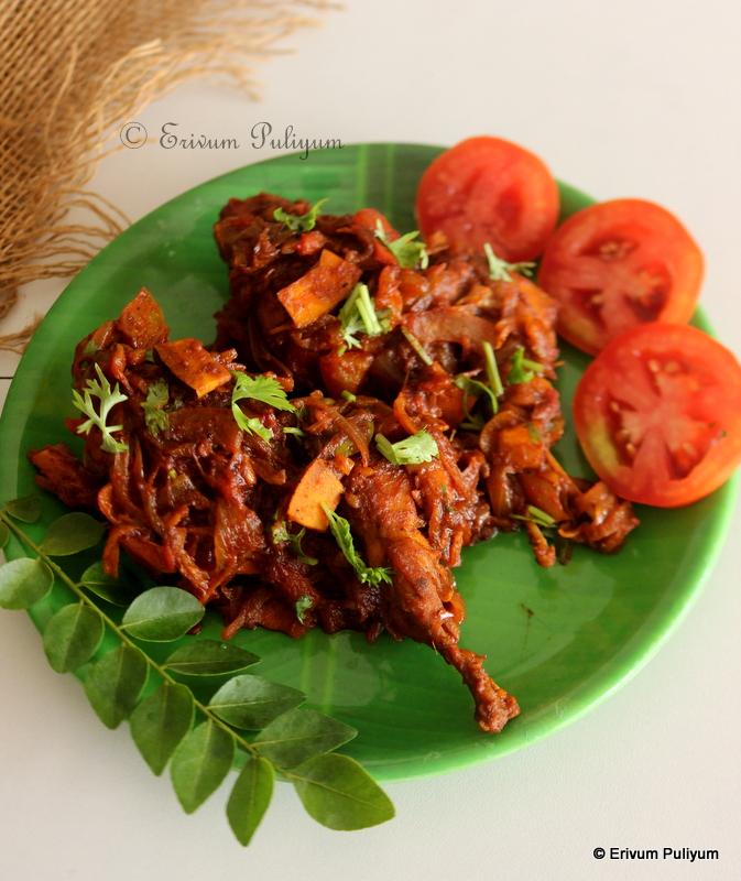 Kerala Style Kaada Roast | Quail Roast(Step by Step Pics)   ~ Easter Special !
