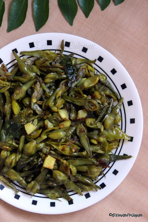Nithya Vazhuthana (Vazhuthananga) Mezhukuparetti | Clove Bean Stir Fry