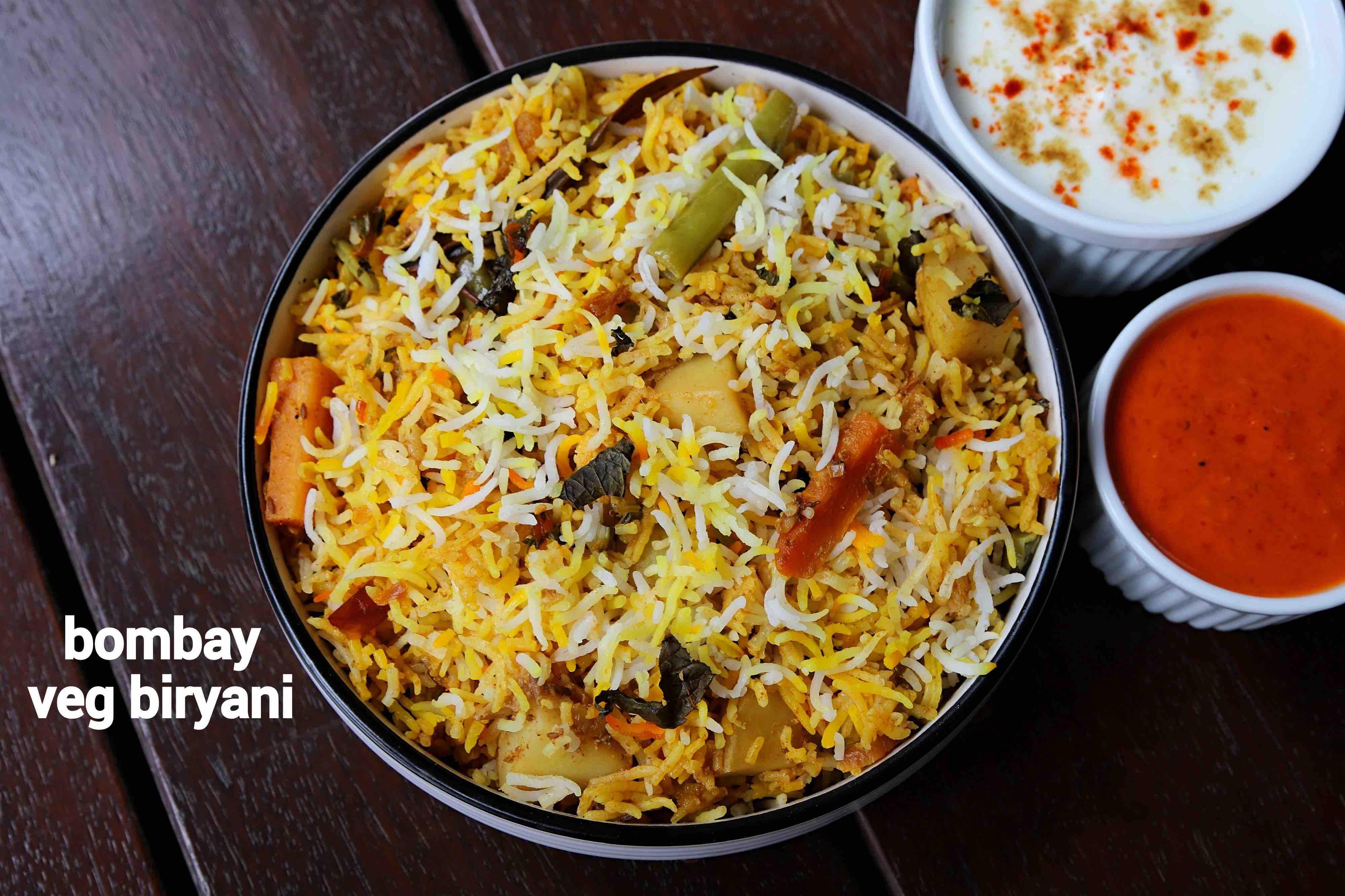 bombay biryani recipe | mumbai biryani | bombay veg biriyani