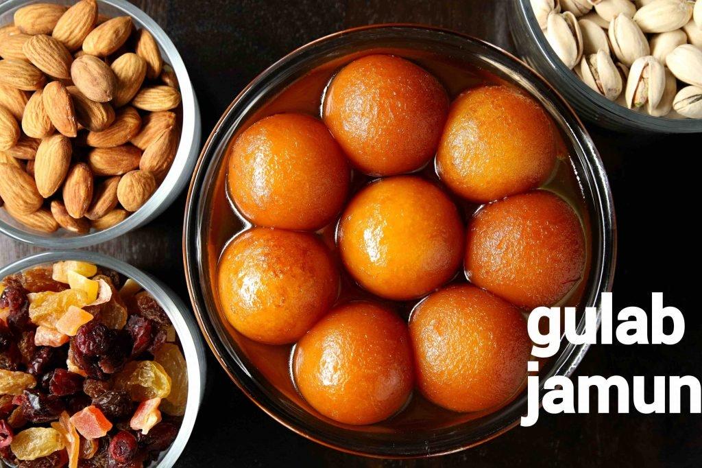gulab jamun recipe | how to make gulab jamun with milk powder
