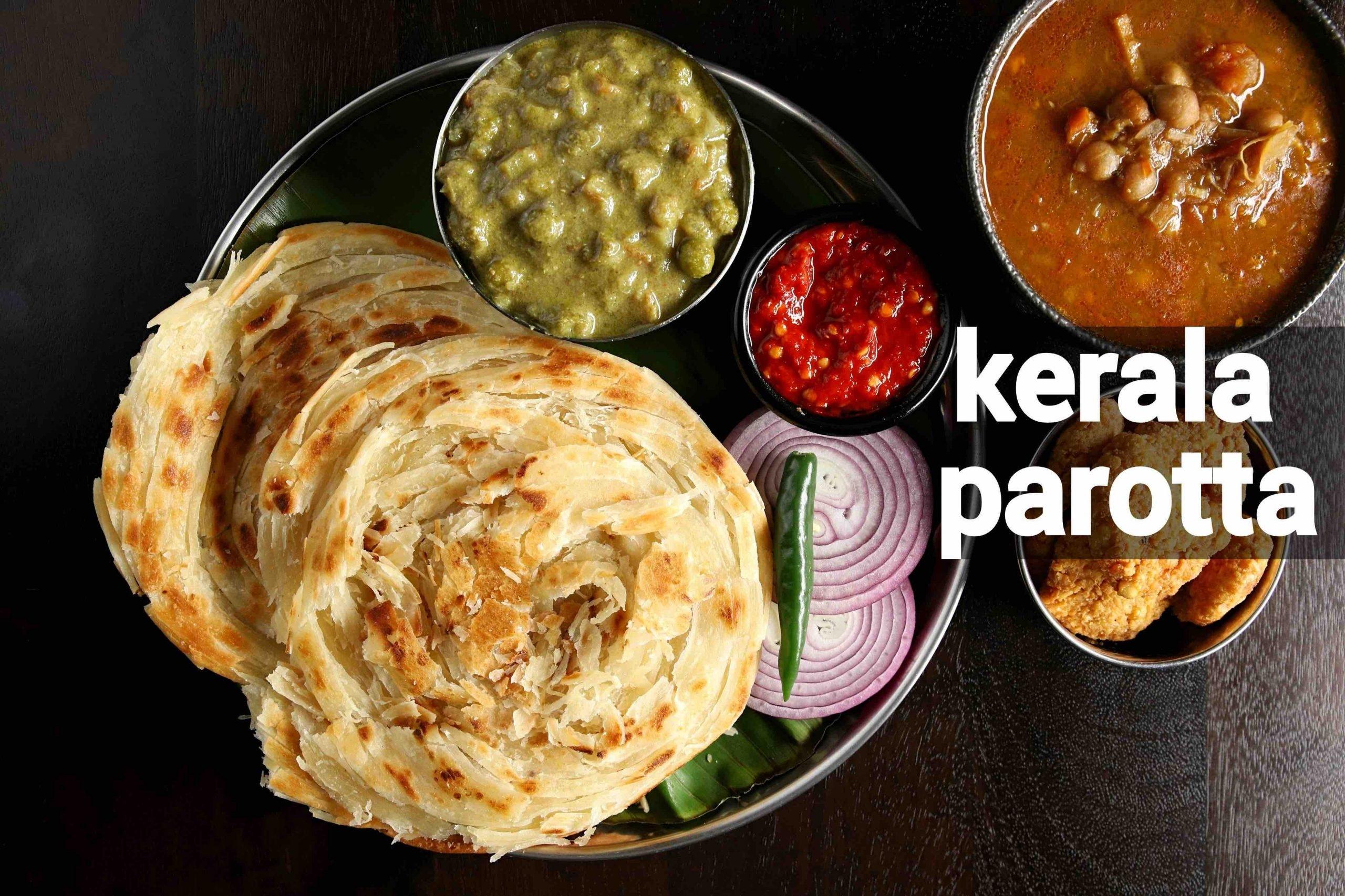 parotta recipe | kerala paratha recipe | malabar paratha recipe