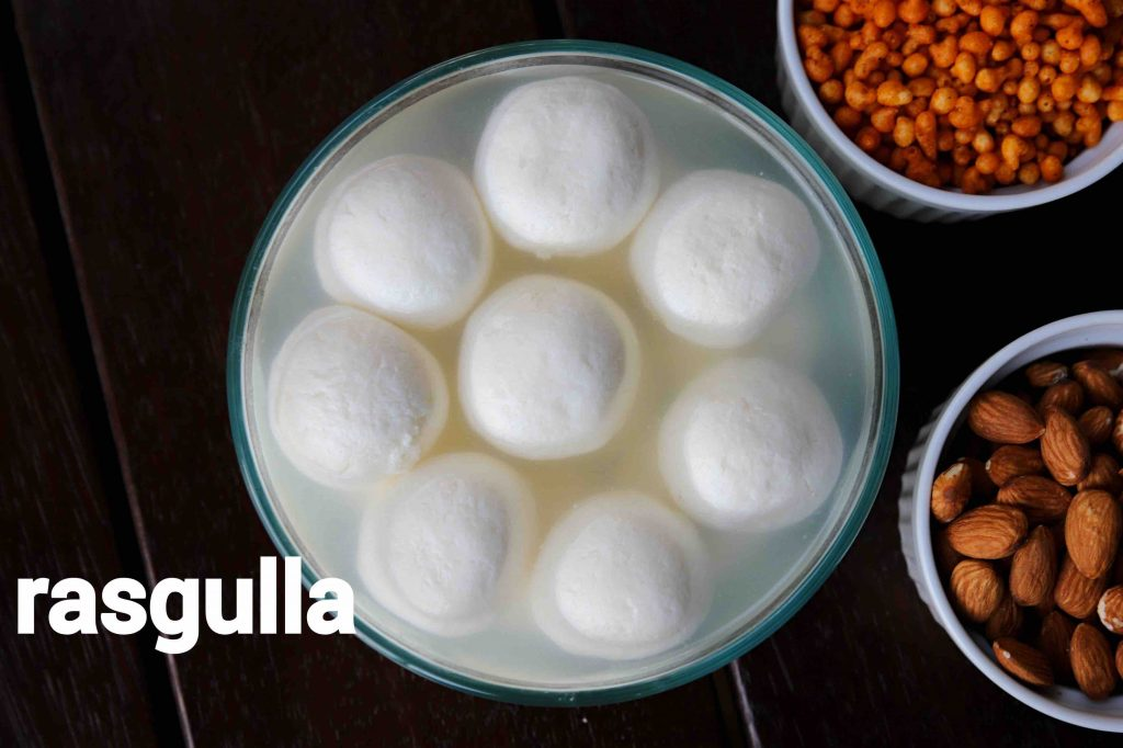rasgulla recipe | bengali rosogulla | how to make sponge rasgulla