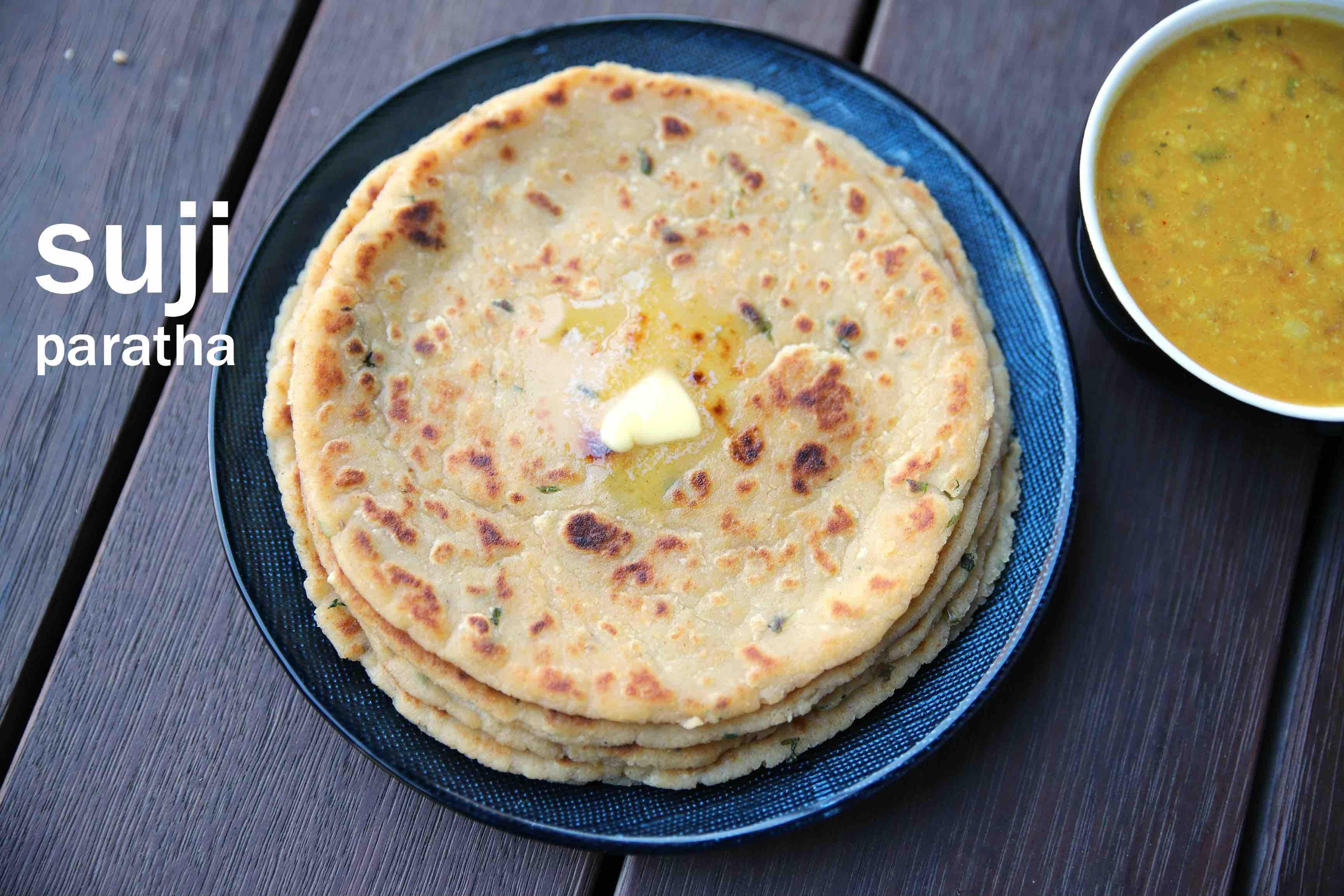 suji ka paratha recipe | sooji paratha | rava paratha