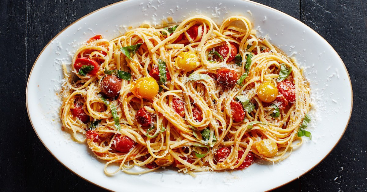 Tomato Spaghetti Recipe (Hindi)