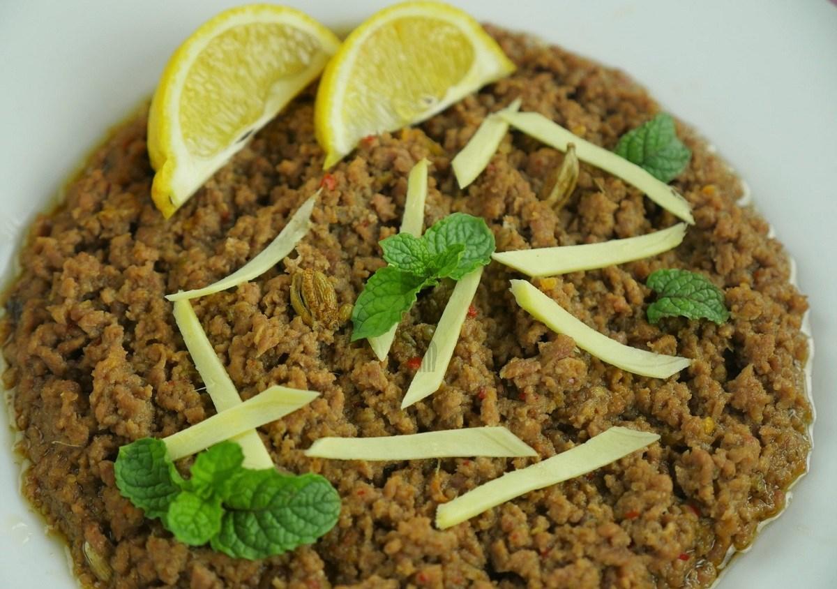 Dahi Kheema Recipe