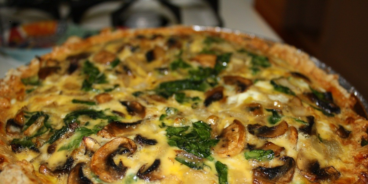 Baked Mushroom and Spinach Casserole Recipe