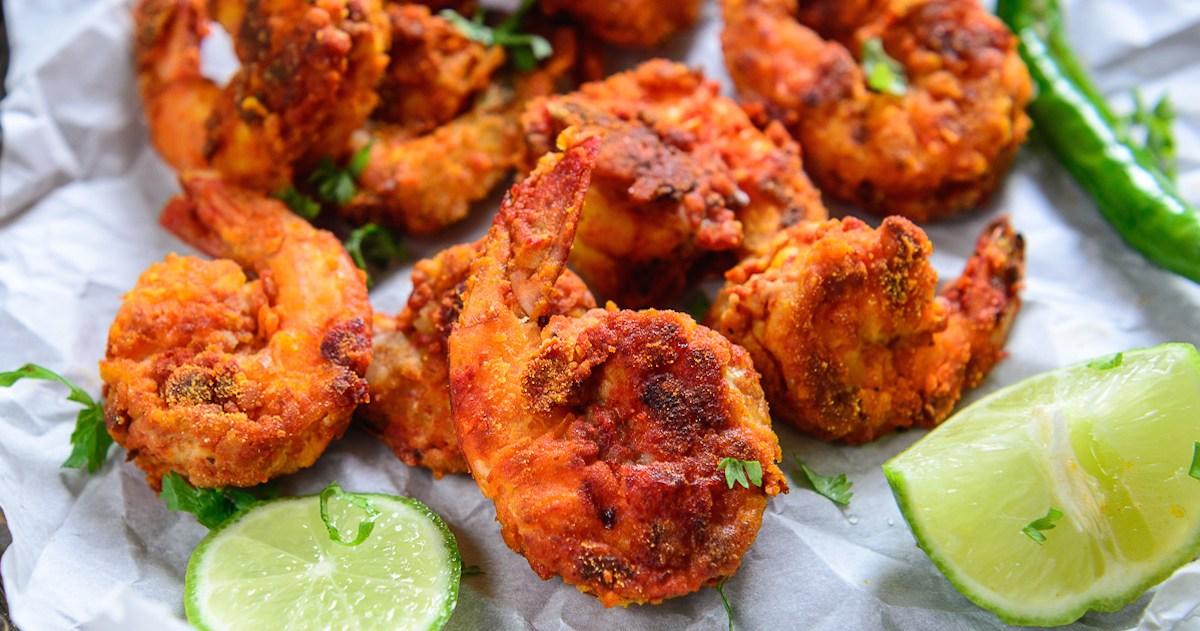 Shrimp Pakora Recipe (Hindi)