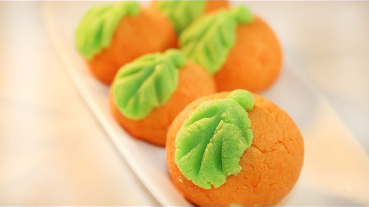 Diwali Special Orange Sandesh Recipe (Hindi)
