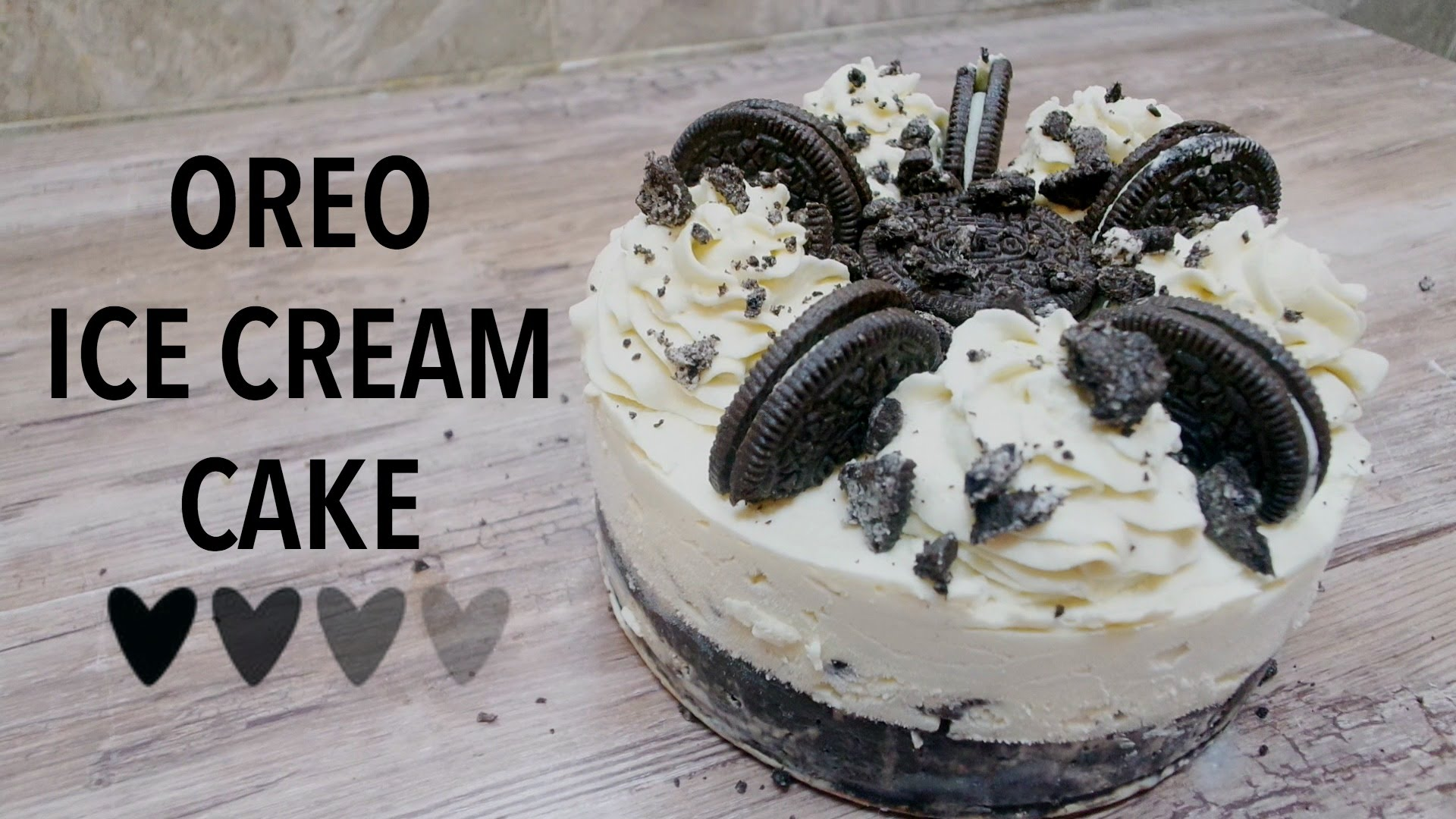 Oreo Ice Cream Cake Recipe