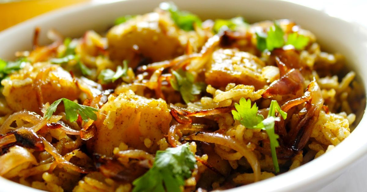 Potato Rice Recipe In Tamil