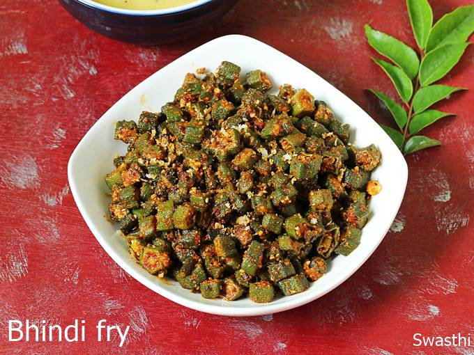 Bhindi fry recipe | How to make bhindi fry | Okra stir fry