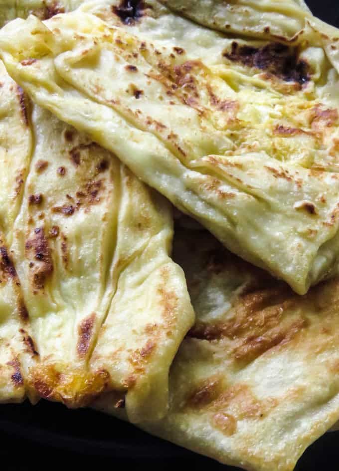 How to make Sri Lankan egg roti/paratha.