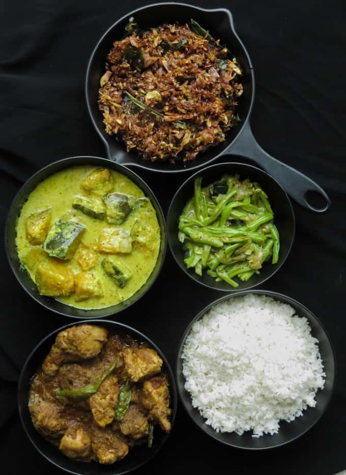 Sri Lankan food menu 6