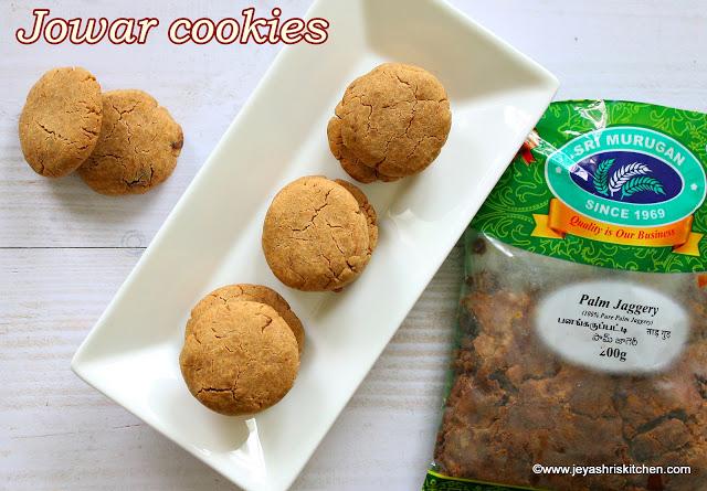 Jowar Chocolate chip cookies, eggless cookies