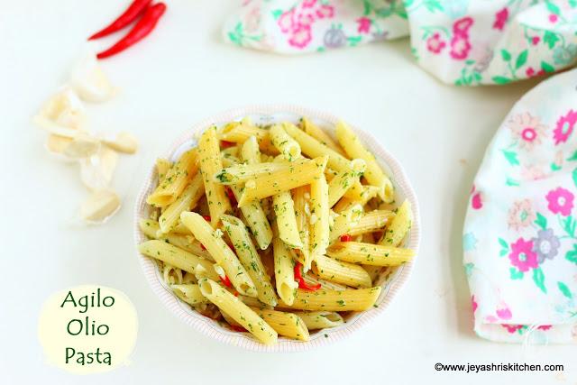 Pastamania Style Agilo olio pasta