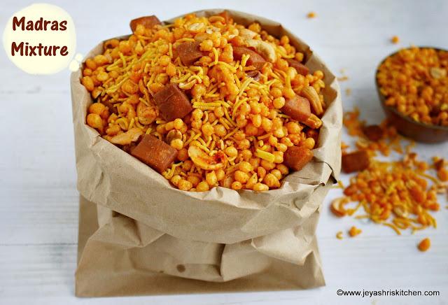 Madras  mixture recipe, Diwali recipes
