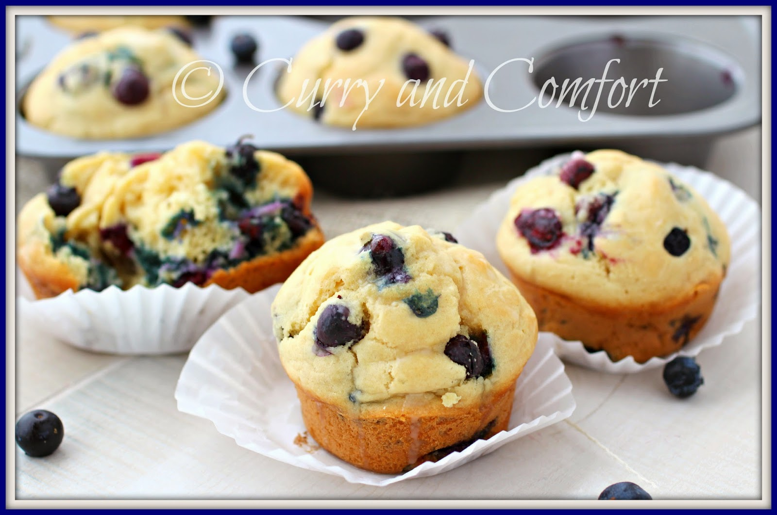 My Best Blueberry Muffins