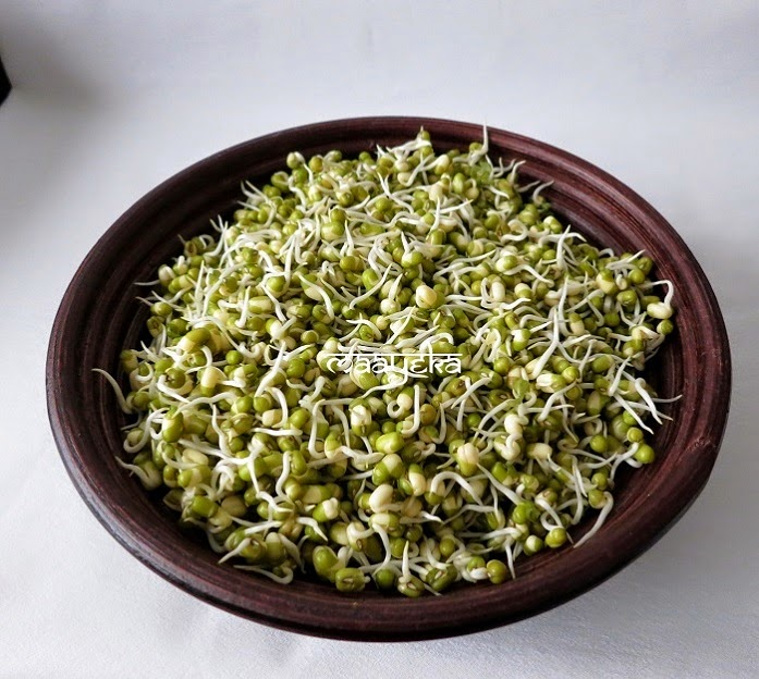 How To Make Sprouts ,Mung Beans Sprouts