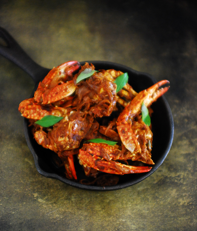 Kerala Style Njandu (Crab) Roast