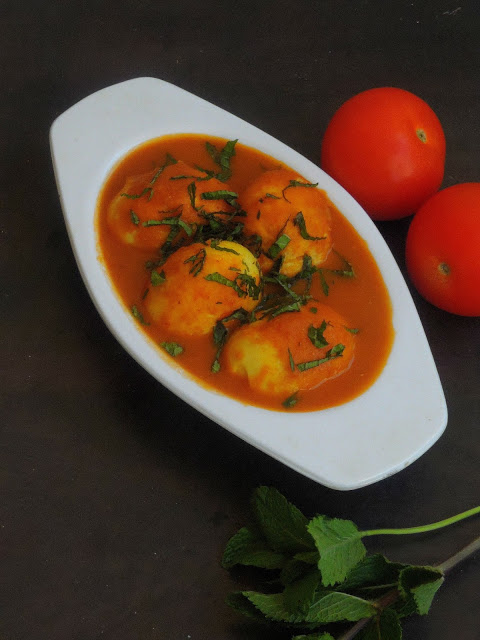 Anda Curry Dhabba Style/Punjabi Egg Curry