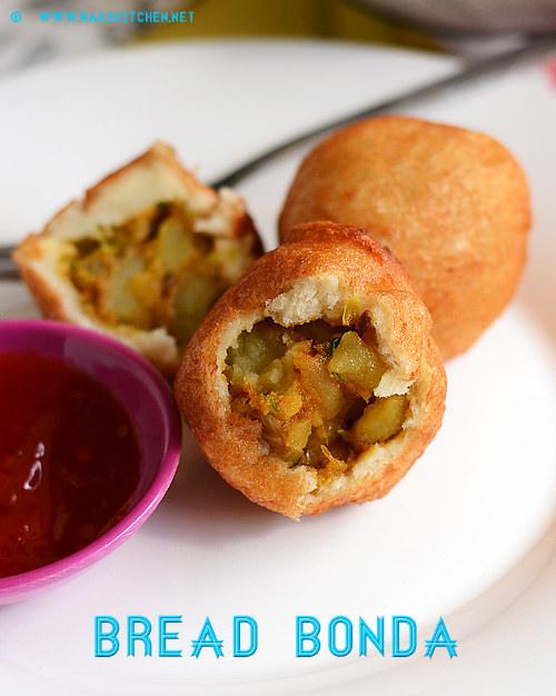 Bread bonda recipe, Kids snacks recipes