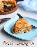 Roti vegetable lasagna, Rotimatic recipes