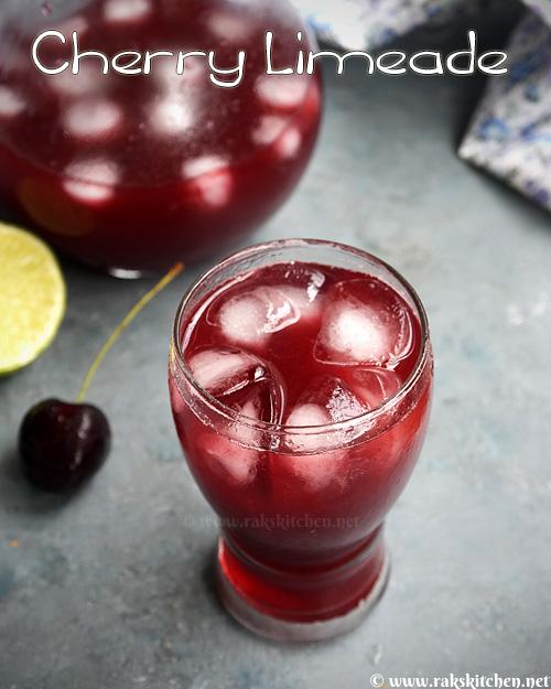 Cherry Limeade, easy cherry limeade