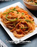 Schezwan chowmein, desi noodles