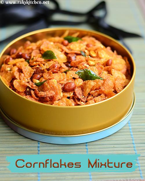 Cornflakes mixture, cornflakes chivda recipe