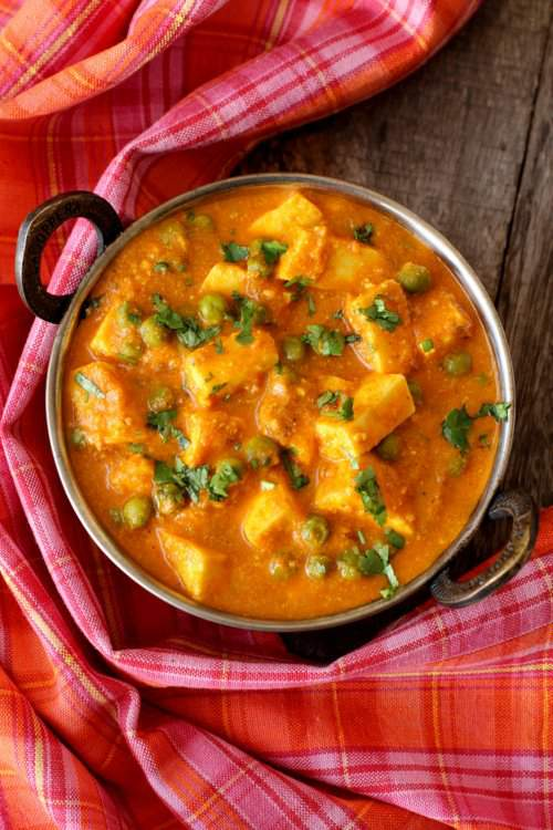 Khoya matar paneer recipe