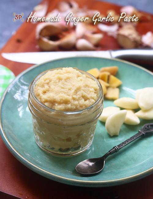 Ginger garlic paste recipe