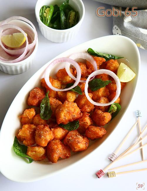 Gobi 65 recipe restaurant style, Restaurant style cauliflower 65 recipe