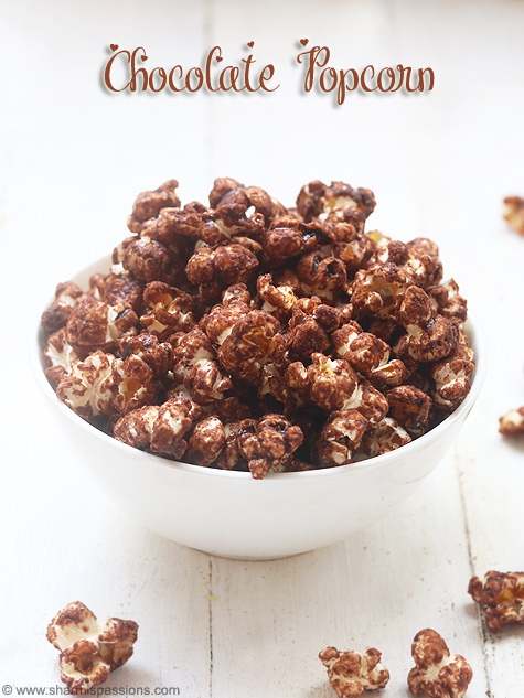Chocolate popcorn recipe, Easy chocolate popcorn recipe