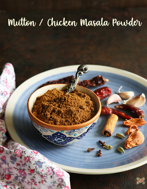 Mutton Chicken masala powder recipe – Meat masala powder recipe