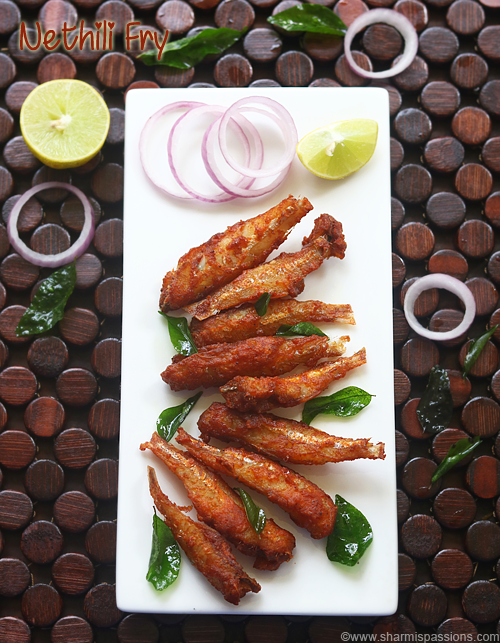 Nethili fry recipe | Nethili varuval | Anchovies fry recipe