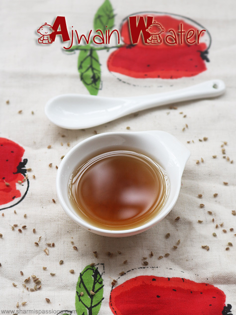 Ajwain water recipe for babies, Oma water for babies and kids
