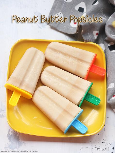 Peanut butter banana yogurt popsicle recipe