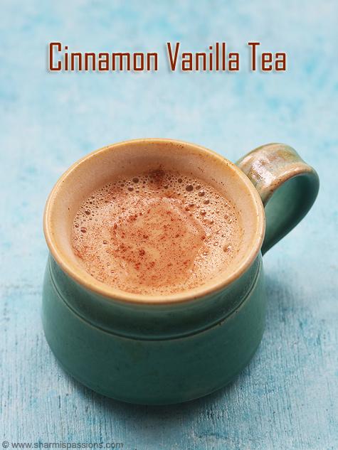 Vanilla cinnamon tea recipe, Vanilla cinnamon chai recipe