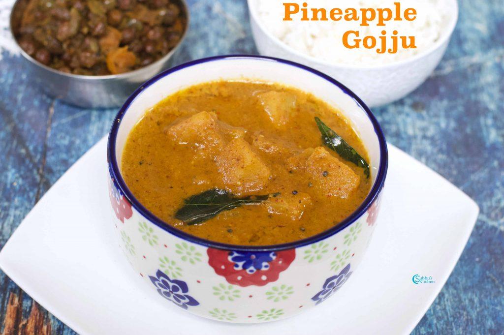 Pineapple Gojju | Pineapple Menaskai