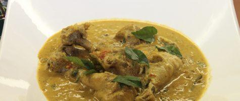 Instant Pot 30 Minute Chicken Korma- Chicken in Coconut Milk
